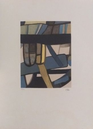 Lithographie Esteve - Bredin