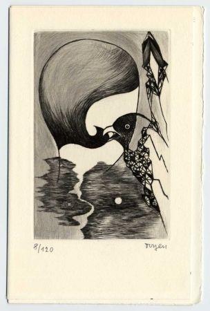 Livre Illustré Toyen - BRETON (André). Sur la route de San Romano.