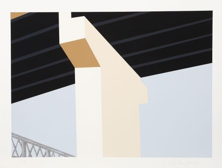 Sérigraphie D'arcangelo - Bridge