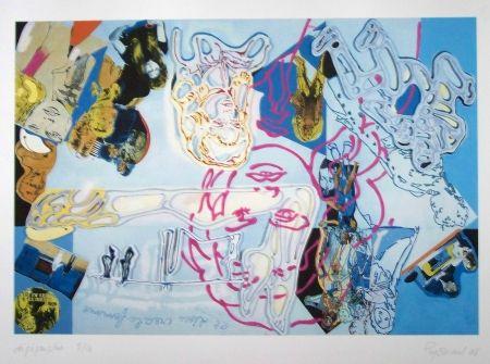 Lithographie Guyomard - Brigitte bardot