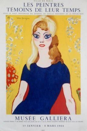 Affiche Van Dongen - Brigitte bardot
