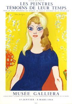 Lithographie Van Dongen - Brigitte Bardot