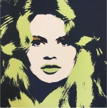 Sérigraphie Warhol (After) - Brigitte Bardot