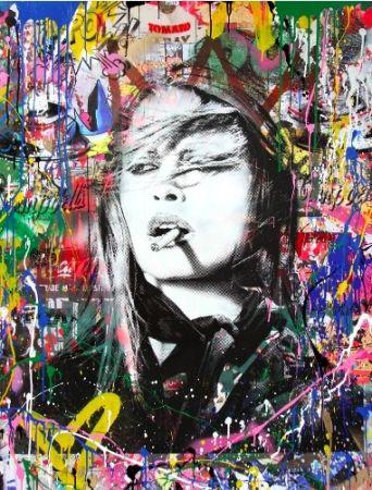 Sérigraphie Mr Brainwash - Brigitte Bardot, 2018