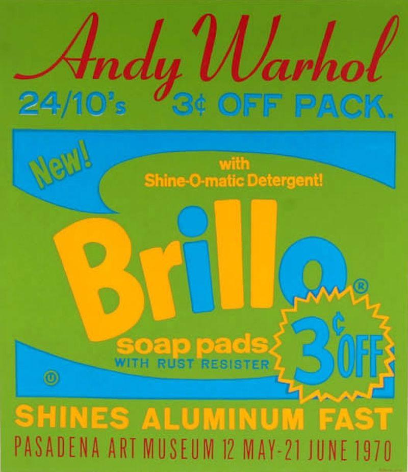 Sérigraphie Warhol - Brillo Soap Pads