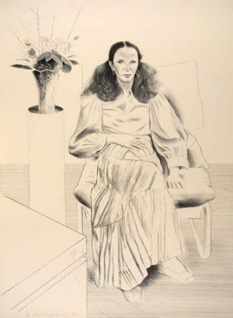 Lithographie Hockney - Brook Hopper