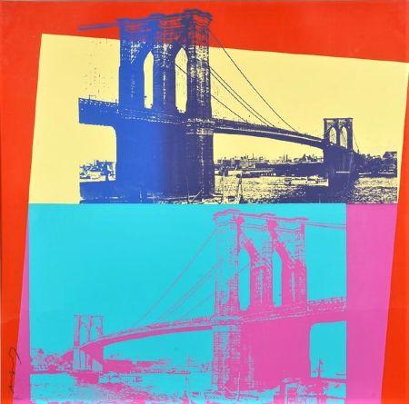 Sérigraphie Warhol - Brooklyn Bridge