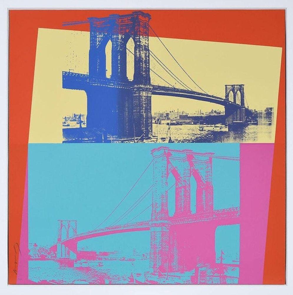Sérigraphie Warhol - Brooklyn Bridge, FS 11.290