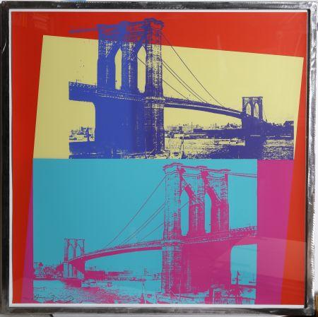Sérigraphie Warhol - Brooklyn Bridge (FS II.290)