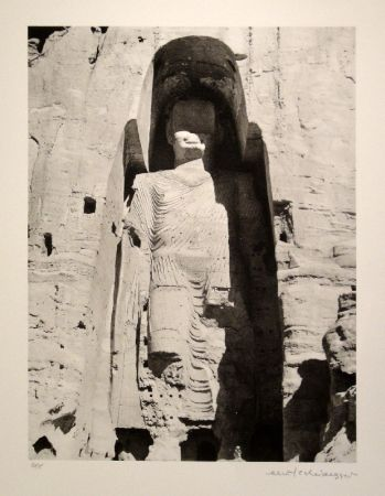 Aucune Technique Scheidegger - Buddha-Monument im Bamiyan-Tal, Afghanistan