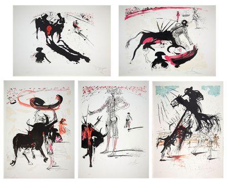 Lithographie Dali - Bullfight Suite (Tauromachie)