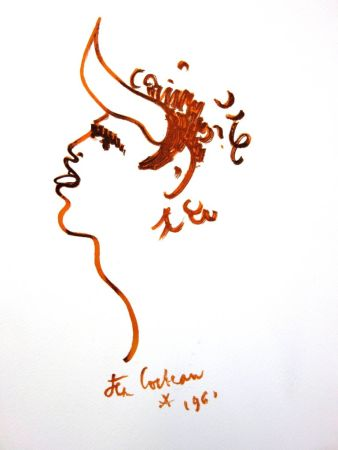 Lithographie Cocteau - Bullman