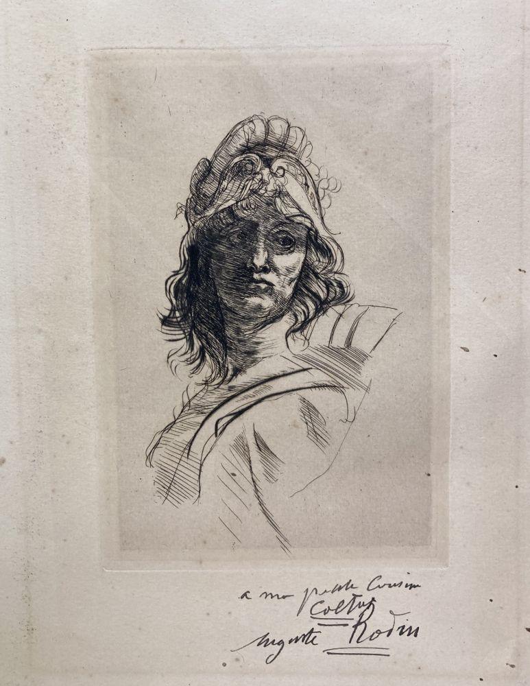Pointe-Sèche Rodin - Buste de Bellona