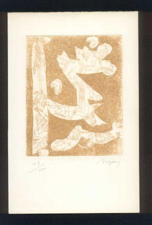 Livre Illustré Bryen - BUTOR (Michel). Bryen en temps conjugués.