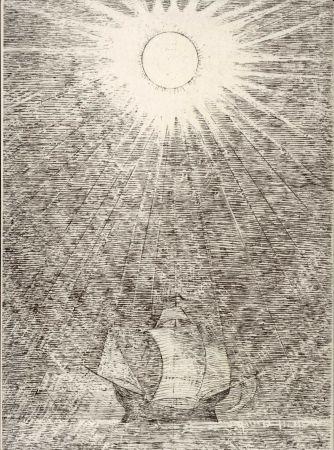 Livre Illustré Masurovsky - BUTOR (Michel). L'Oeil des Sargasses.