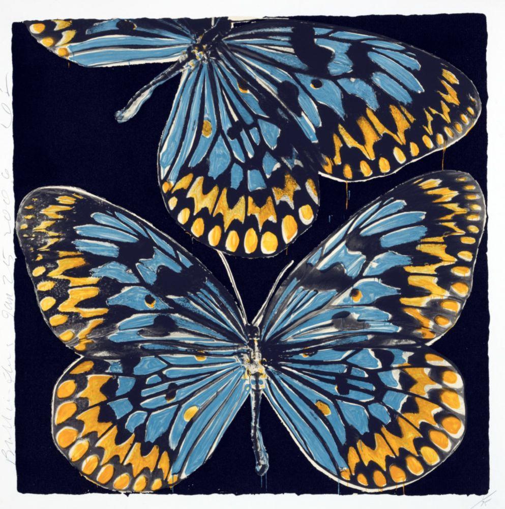 Sérigraphie Sultan - Butterflies