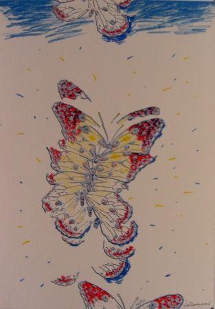 Sérigraphie Vanarsky - Butterfly