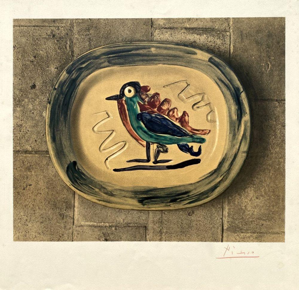 Lithographie Picasso - Céramique