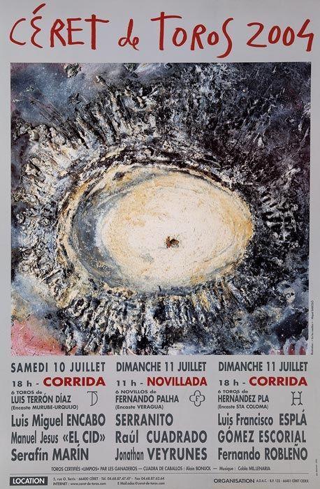 Affiche Barcelo - Céret de Toros