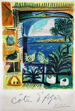 Lithographie Picasso -    Côte D'Azur
