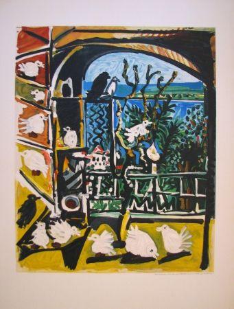 Lithographie Picasso - Côte d'Azur (After)