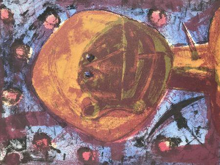 Lithographie Tamayo - Cabeza Con Pajaros