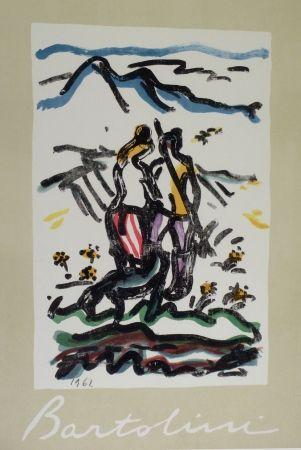 Lithographie Bartolini - Cacciatore Felice