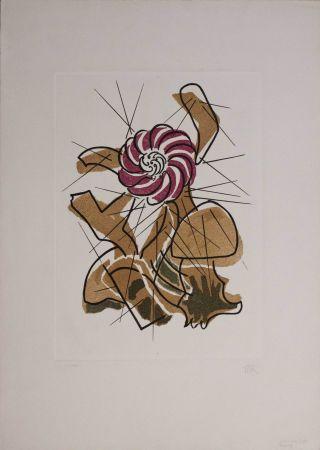 Gravure Ray - Cactus danzante