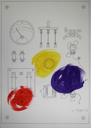 Lithographie Takis - Cadran