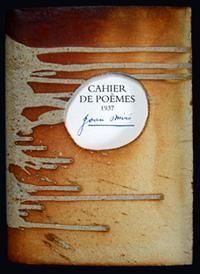 Livre Illustré Miró - Cahier de poemes 1937