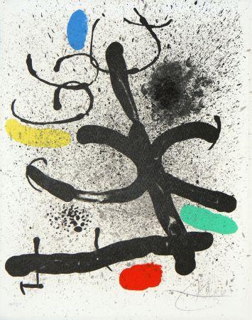 Lithographie Miró - Cahier d'ombres (M. 744)