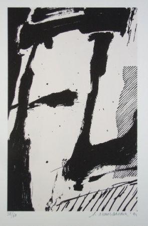 Sérigraphie Titus Carmel - Cairn