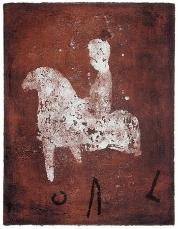 Lithographie Gorodine - Cal (2002)
