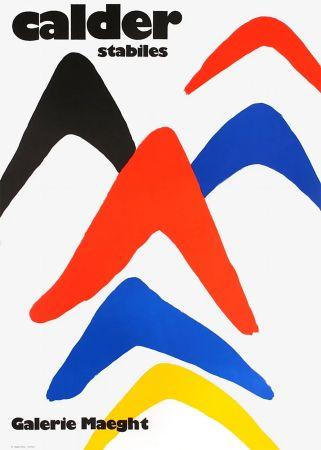 Affiche Calder - CALDER 71 : Exposition
