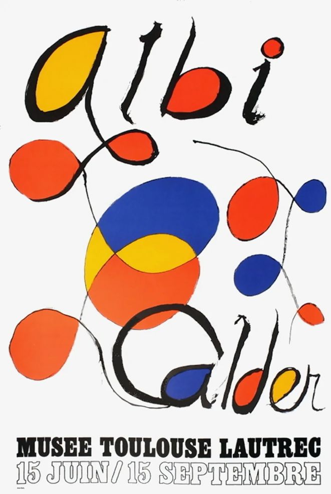 Affiche Calder - CALDER 72 : Exposition à ALBI.