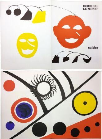 Livre Illustré Calder - CALDER. DERRIÈRE LE MIROIR N° 221. 7 lithographies originales (1976).
