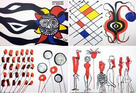 Livre Illustré Calder - CALDER OISELEUR DU FER. DERRIÈRE LE MIROIR N° 156 (1966).