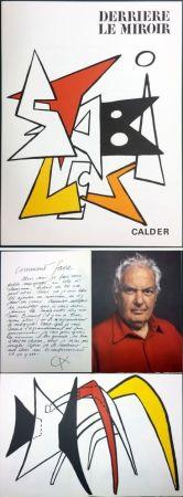Livre Illustré Calder - CALDER. STABILES. Derrière le Miroir n° 141. 8 LITHOGRAPHIES ORIGINALES (1963)
