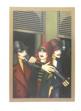 Lithographie Okshteyn - Call girls