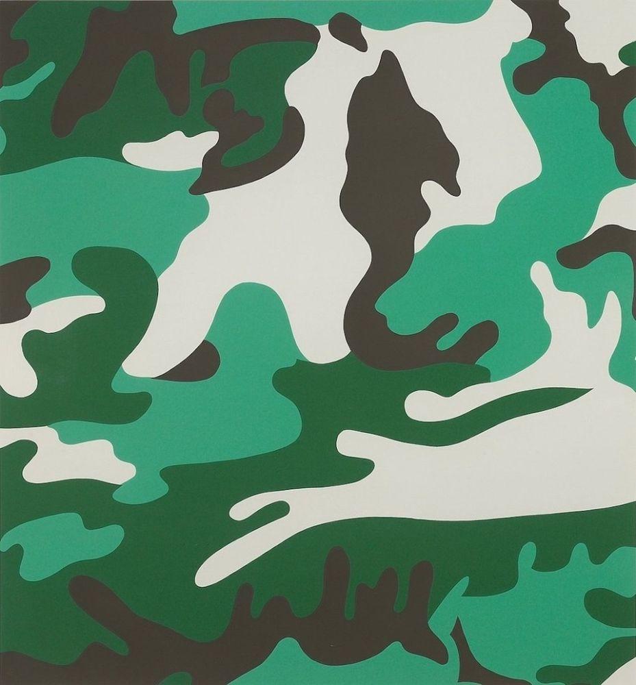 Sérigraphie Warhol - Camouflage (FS II.406)