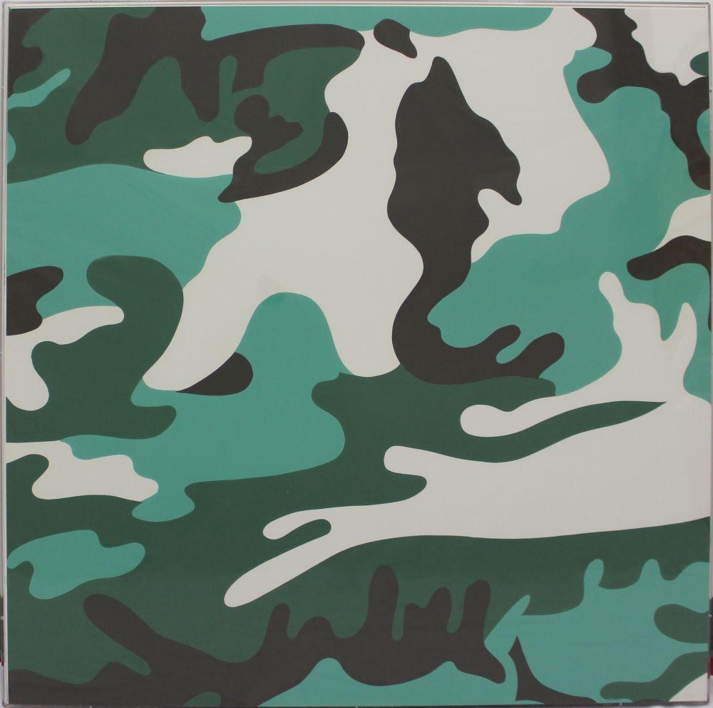 Sérigraphie Warhol - Camouflage (FSII.406)