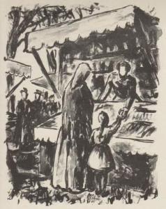 Livre Illustré Bouleau - Campagne. Lithographies de Charles Bouleau.