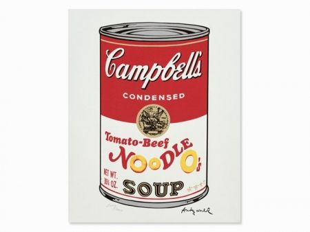 Lithographie Warhol - Campbell
