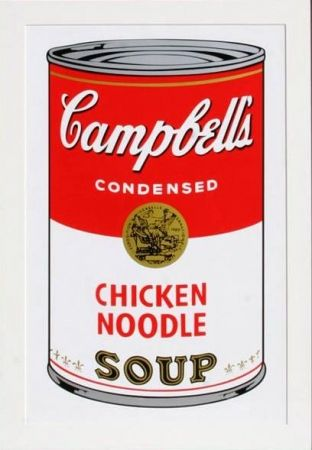 Sérigraphie Warhol - Campbell's Chicken Noodle Soup (II.45)