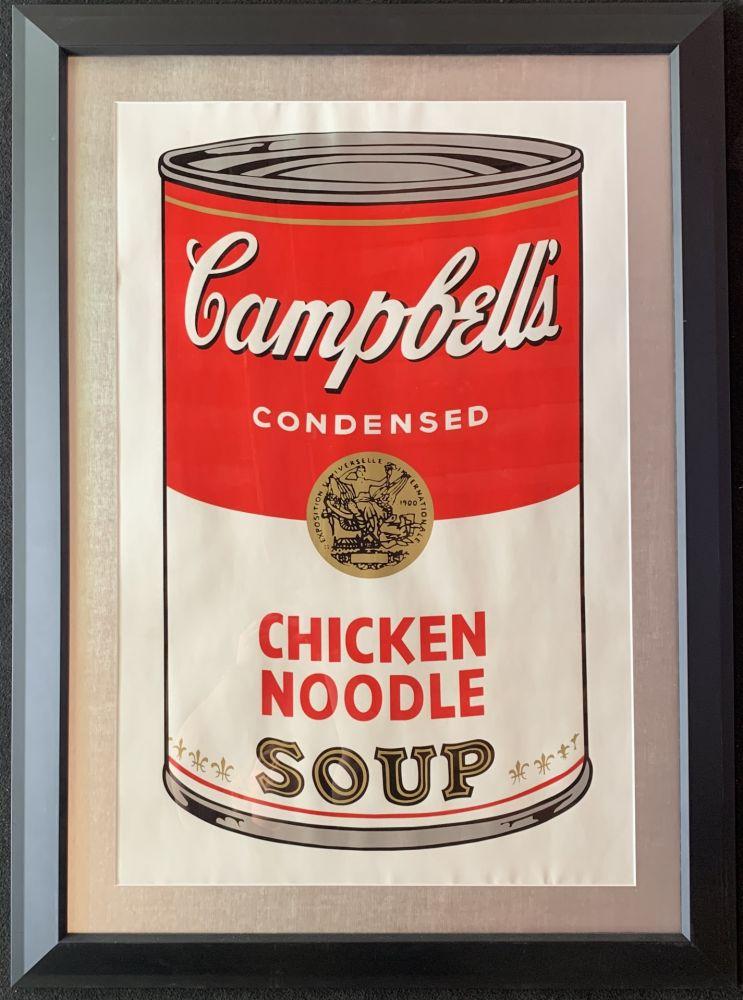 Sérigraphie Warhol - Campbell's soup
