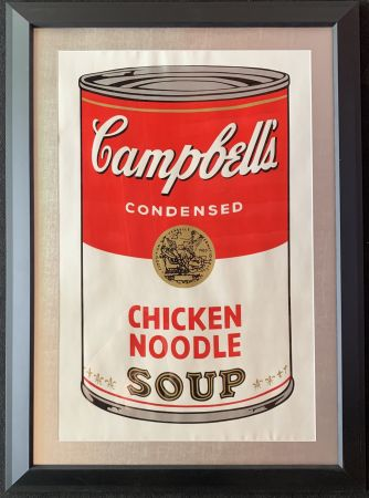 Sérigraphie Warhol - Campbell's soup