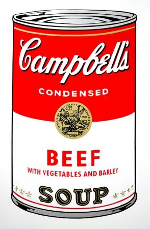 Sérigraphie Warhol (After) - Campbell's Soup - Beef