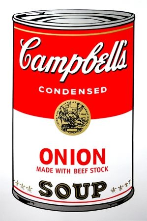 Sérigraphie Warhol (After) - Campbell's Soup - Onion