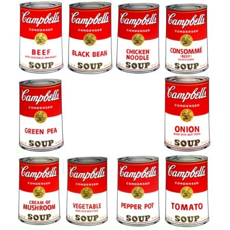 Sérigraphie Warhol (After) - Campbell's Soup - Portfolio