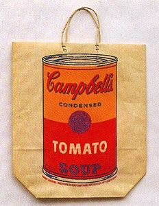 Sérigraphie Warhol - Campbell's Soup Cam (Tomato)